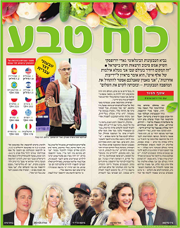 Nature Power - a major article in Yedioth Ahronoth