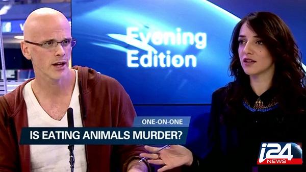 i24News: One on One with Gary Yourofsky