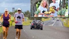 זוג קשישים - מרתון במשך שנה שלמה