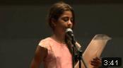 פייסי, ילדה בת 11, מודה לגארי יורופסקי